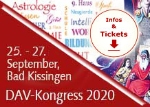 Astrologie-Kongress 2020 des Deutschen Astrologen-Verbandes 25. bis 27. September 2020 in Bad Kissingen