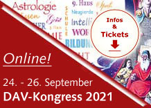 Astrologie-Kongress 2021 des Deutschen Astrologen-Verbandes 25. bis 27. September 2020 in Bad Kissingen